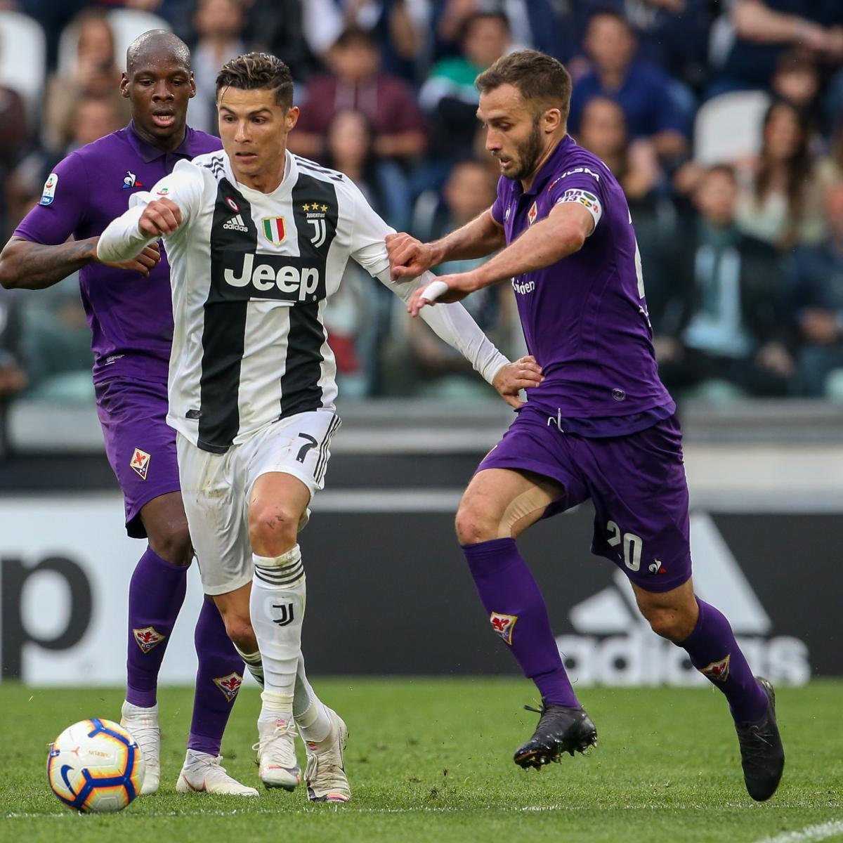 Cristiano Ronaldo helped Juventus secure an eighth Serie A title in a row after his cross was turned into his own goal by Fiorentina centre-back German Pezzella in a 2-1 Bianconeri win at the Allianz Stadium on Saturday...
