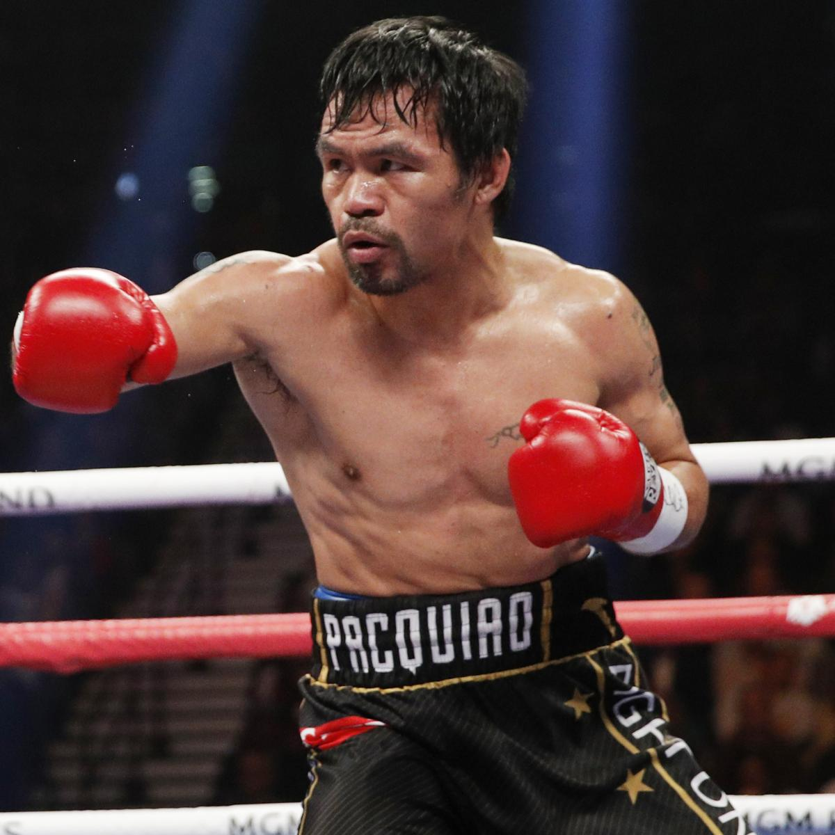 Manny Pacquiao To Return In July; Could Fight Keith