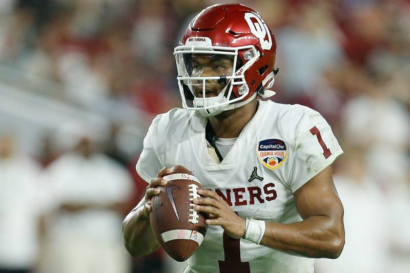 8eea58d5 MIAMI, FL - DECEMBER 29: Kyler Murray #1 of the Oklahoma Sooners scrambles.  Michael Reaves/Getty Images. It's finally the week of the 2019 NFL draft.