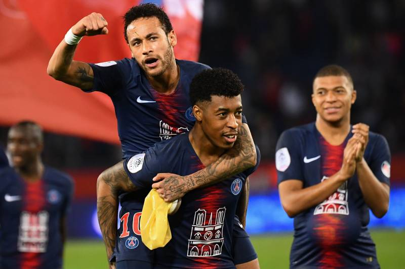 9e57fac8949 Neymar Returns to PSG from Injury as Kylian Mbappe Notches Hat-Trick vs.  Monaco