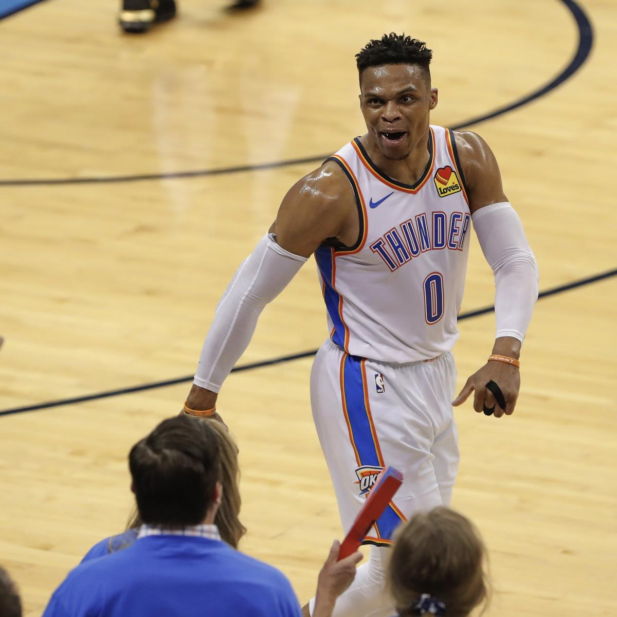 Watch Thunder's Russell Westbrook's New Response To