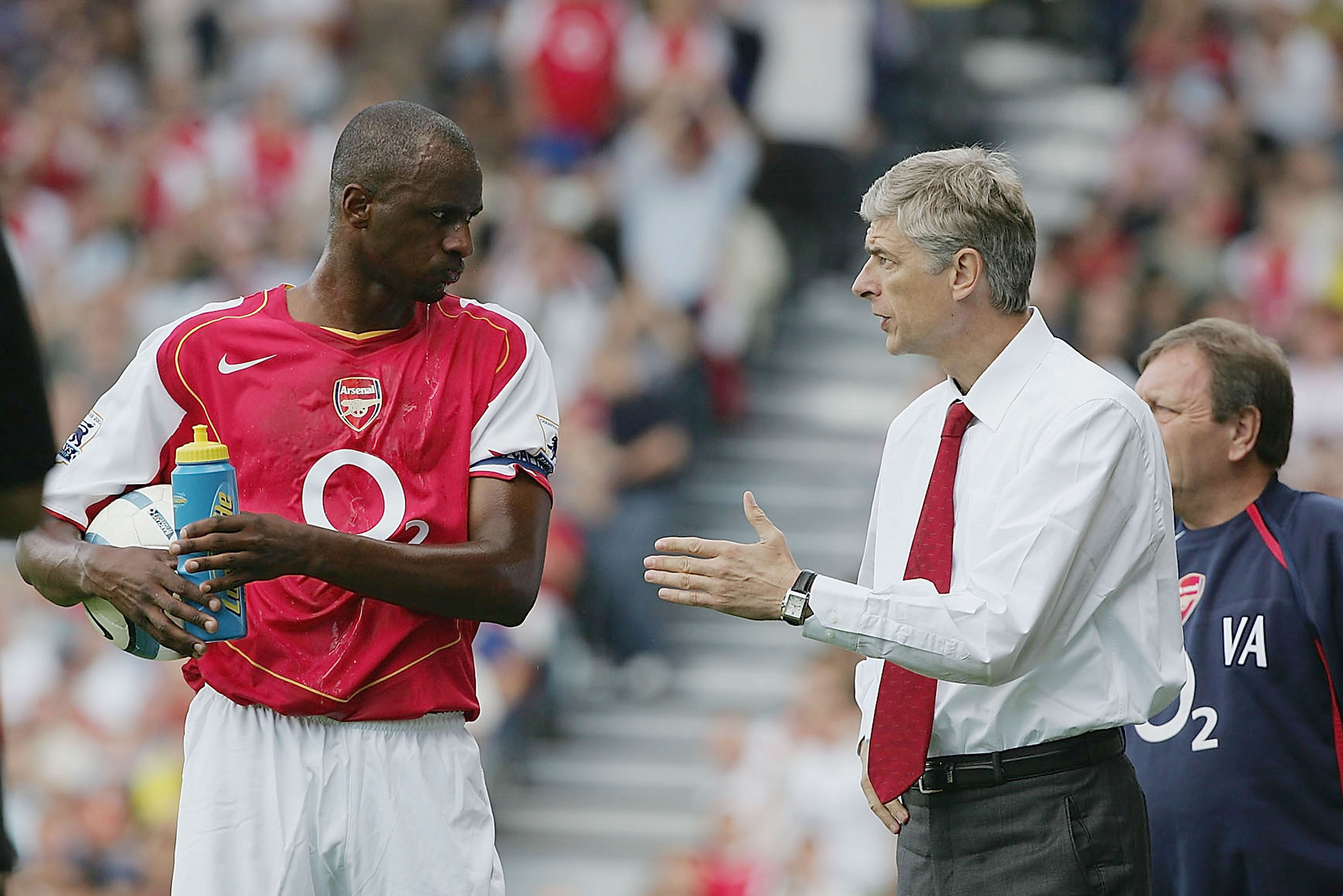 Arsene Wenger Endorses Patrick Vieira As A Future Arsenal Manager Bleacher Report Latest News Videos And Highlights