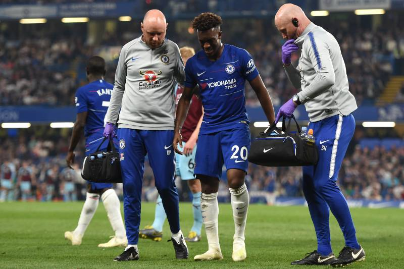 Image result for hudson odoi injury