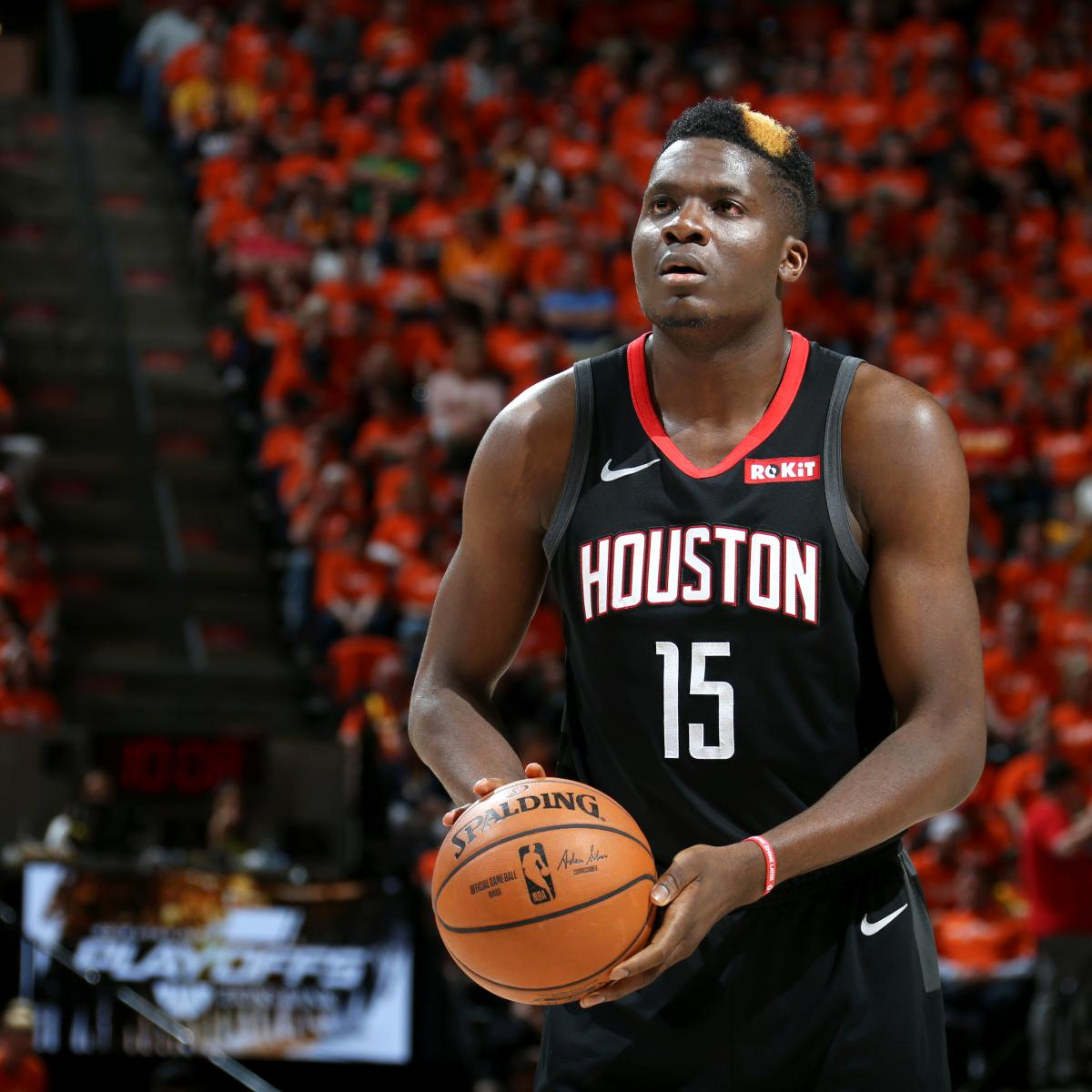 Rockets' Clint Capela Playing With 2 Respiratory Illnesses