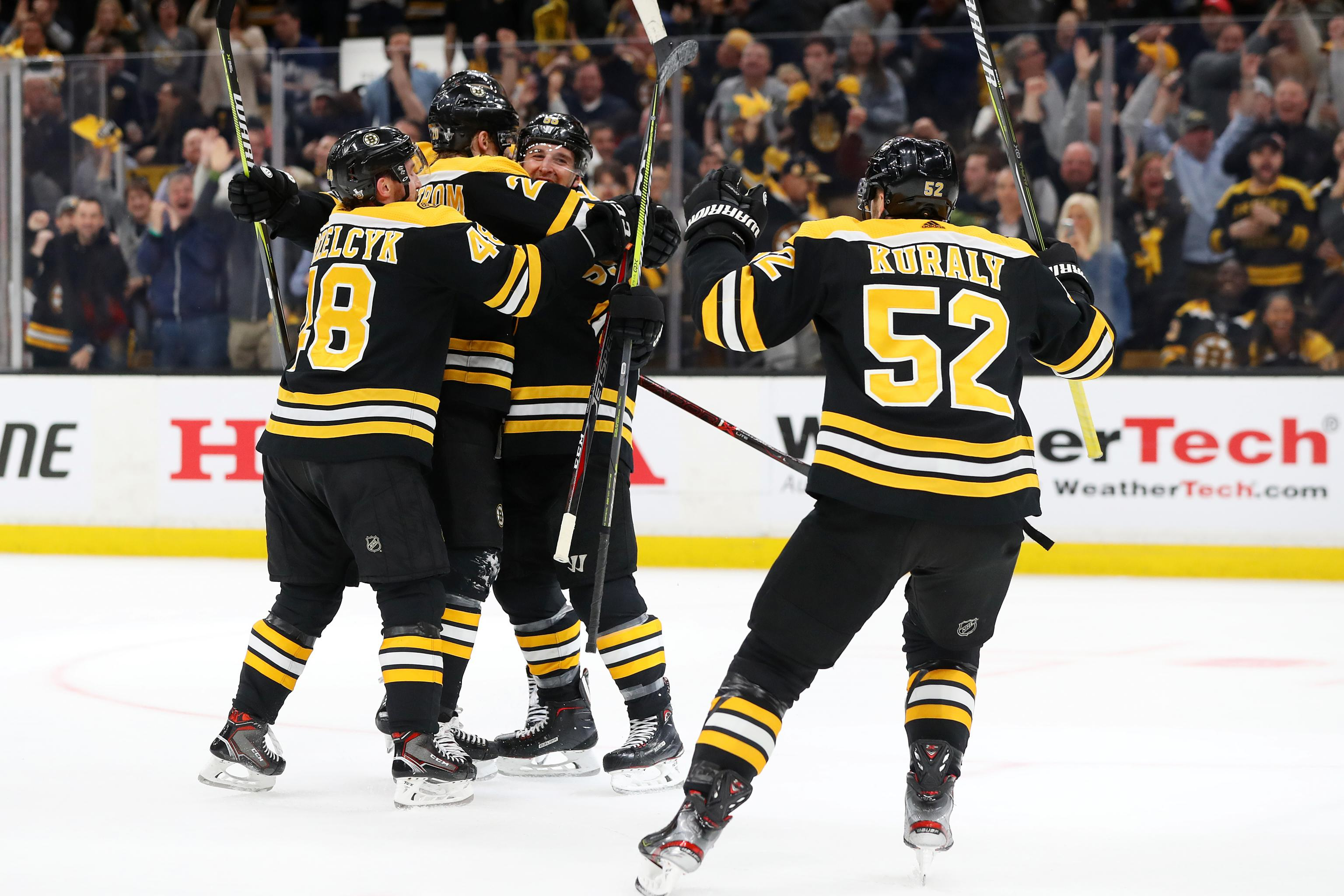 Bruins Beat Maple Leafs 5 1 In Game 7 Will Face Blue Jackets Bleacher Report Latest News Videos And Highlights