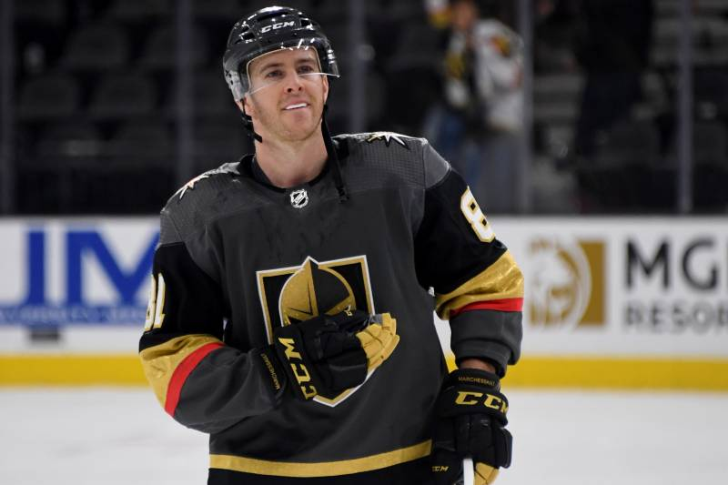 91ca46499 Jonathan Marchessault Rips Refs, Says They 'Stole' Game 7 from Golden  Knights
