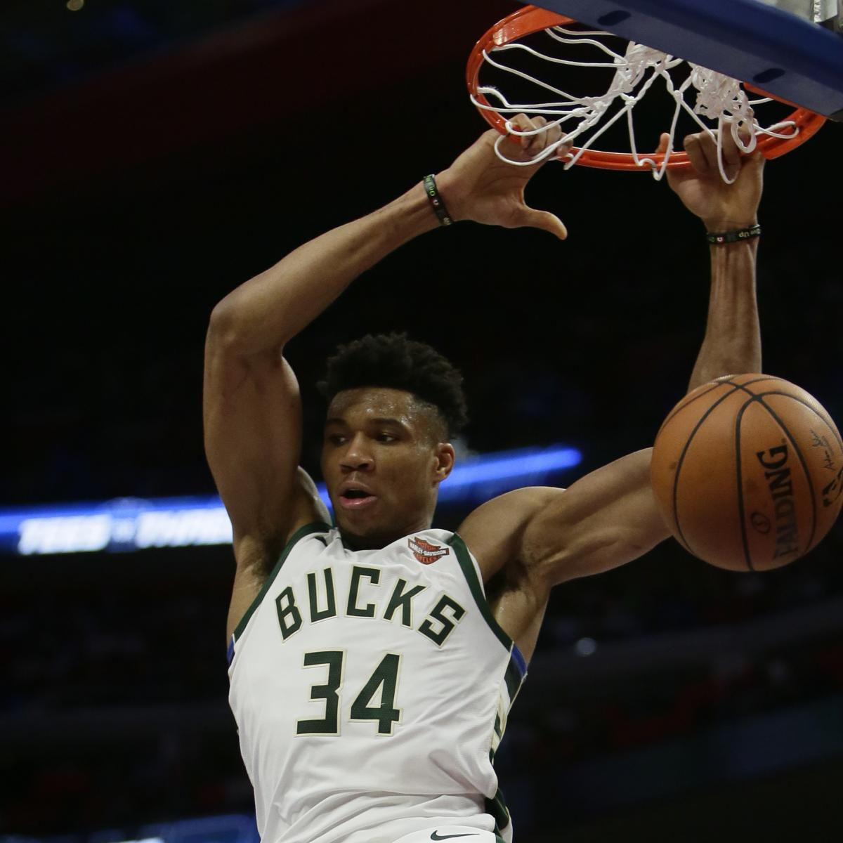 2019 NBA Eastern Conference Title Odds: Bucks Favored