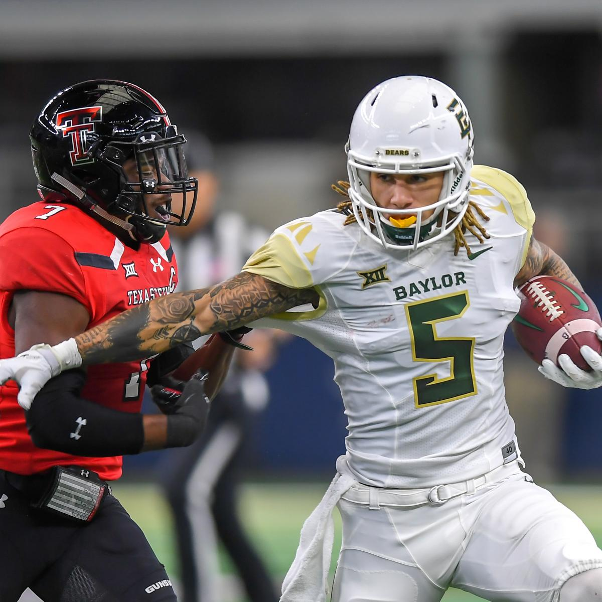49ers Draft Baylor WR Jalen Hurd; Joins Deebo Samuel As SF