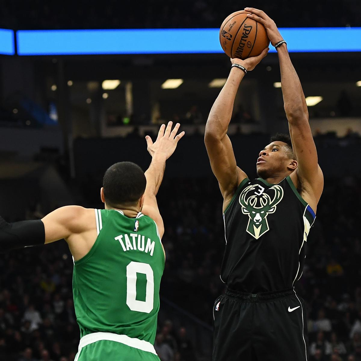 Bucks Vs. Celtics And Raptors Vs. 76ers NBA Playoff