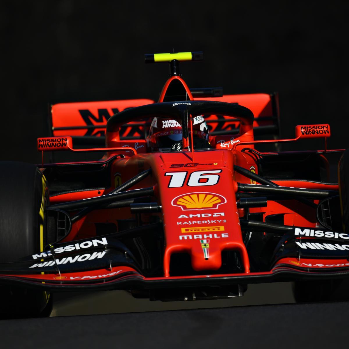 Azerbaijan News And Scores: Azerbaijan F1 Grand Prix 2019 Qualifying: Results, Times
