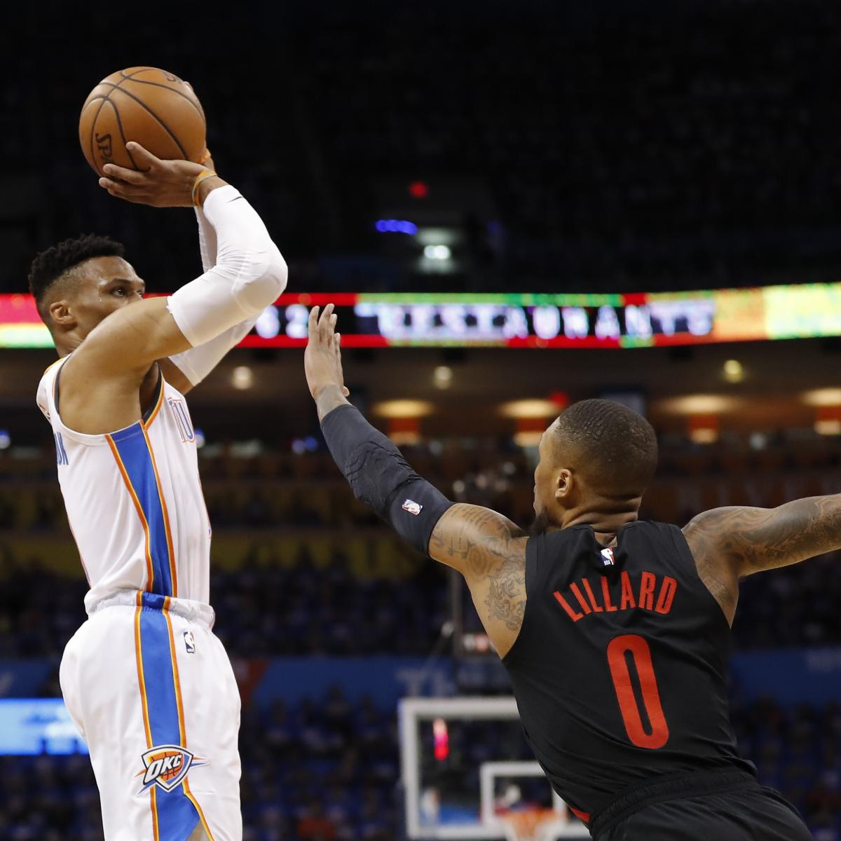 Damian Lillard 'Really Cool' With Russell Westbrook