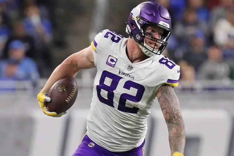 huge discount 896ca 55043 NFL Trade Rumors: Kyle Rudolph on Block After Vikings Draft ...