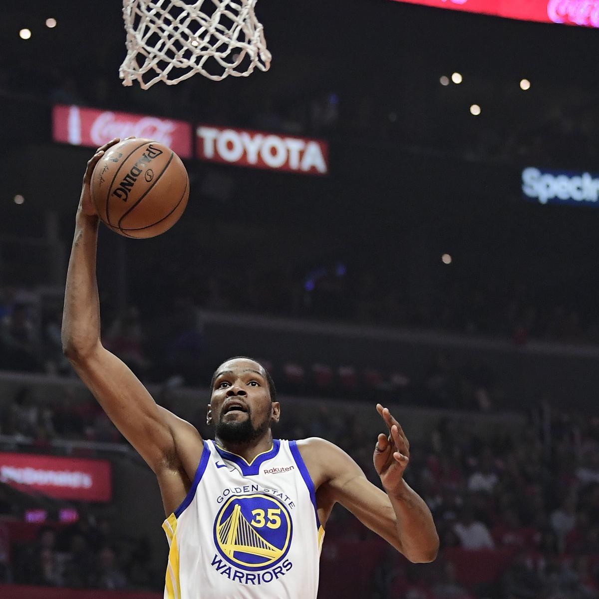 3c55eebb7b4c Kevin Durant Drops 50 as Warriors Eliminate Clippers