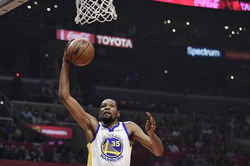 c2c24113d1c Kevin Durant Drops 50 as Warriors Eliminate Clippers