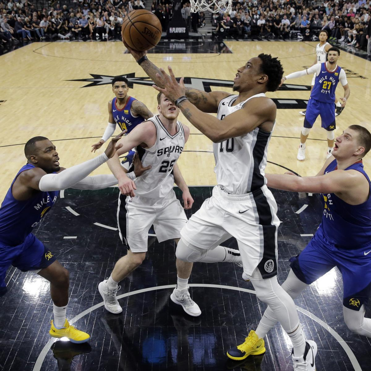 NBA Playoff Schedule 2019: TV Coverage, Saturday Live