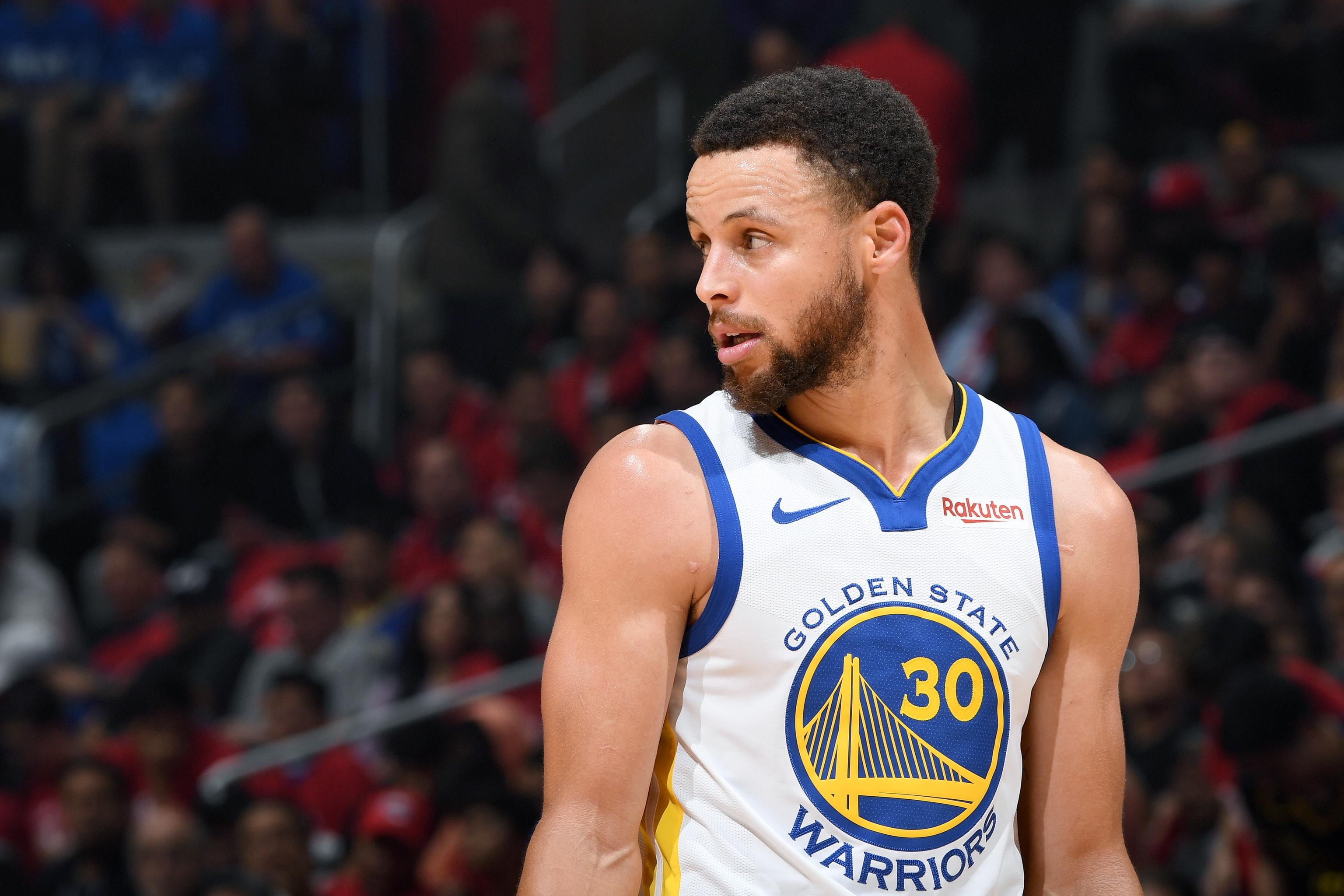 6789344b455c5 Stephen Curry Questionable for Rockets vs. Warriors Game 1 with Ankle Injury