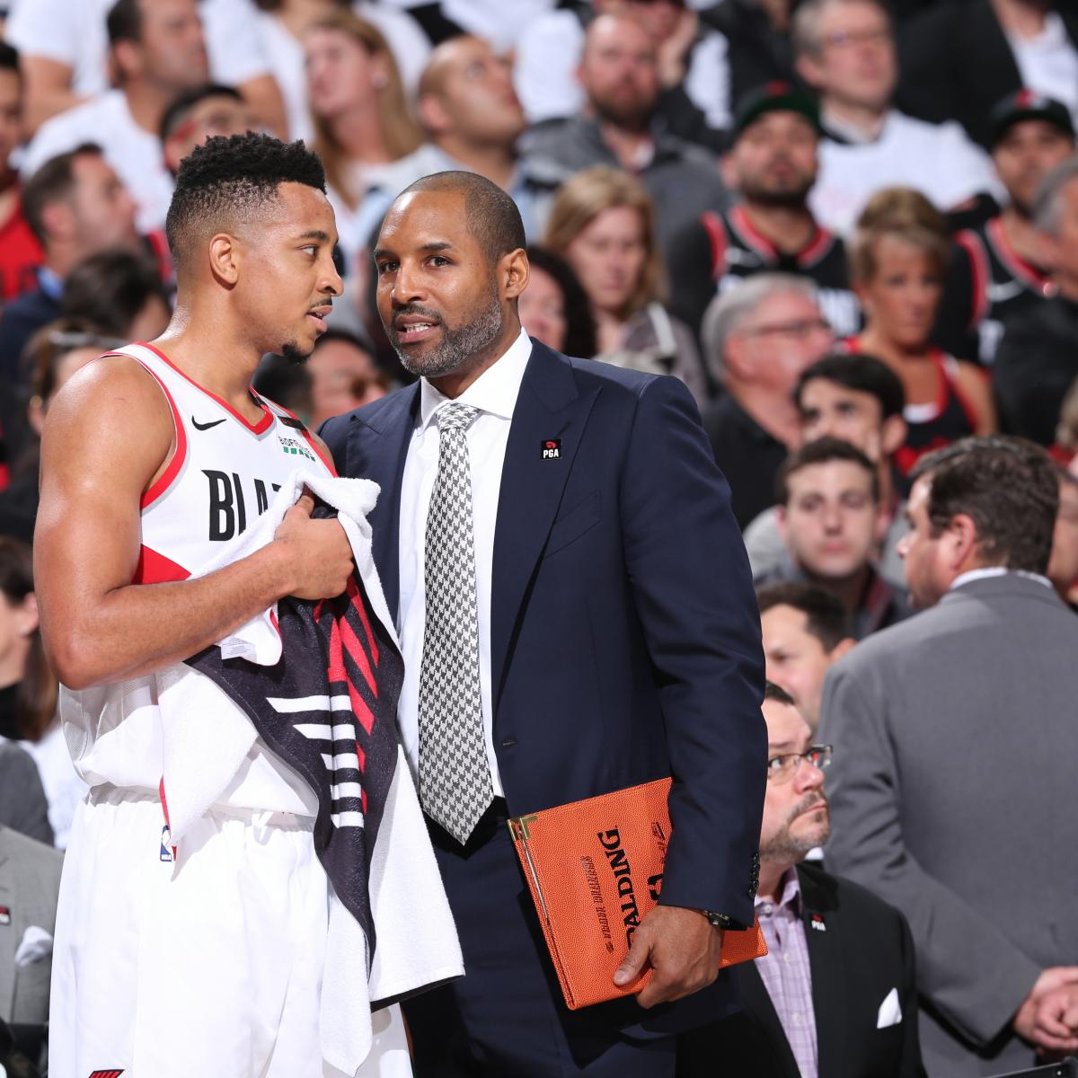 Portland Blazer Rumors: Suns HC Rumors: Trail Blazers' David Vanterpool, Nate