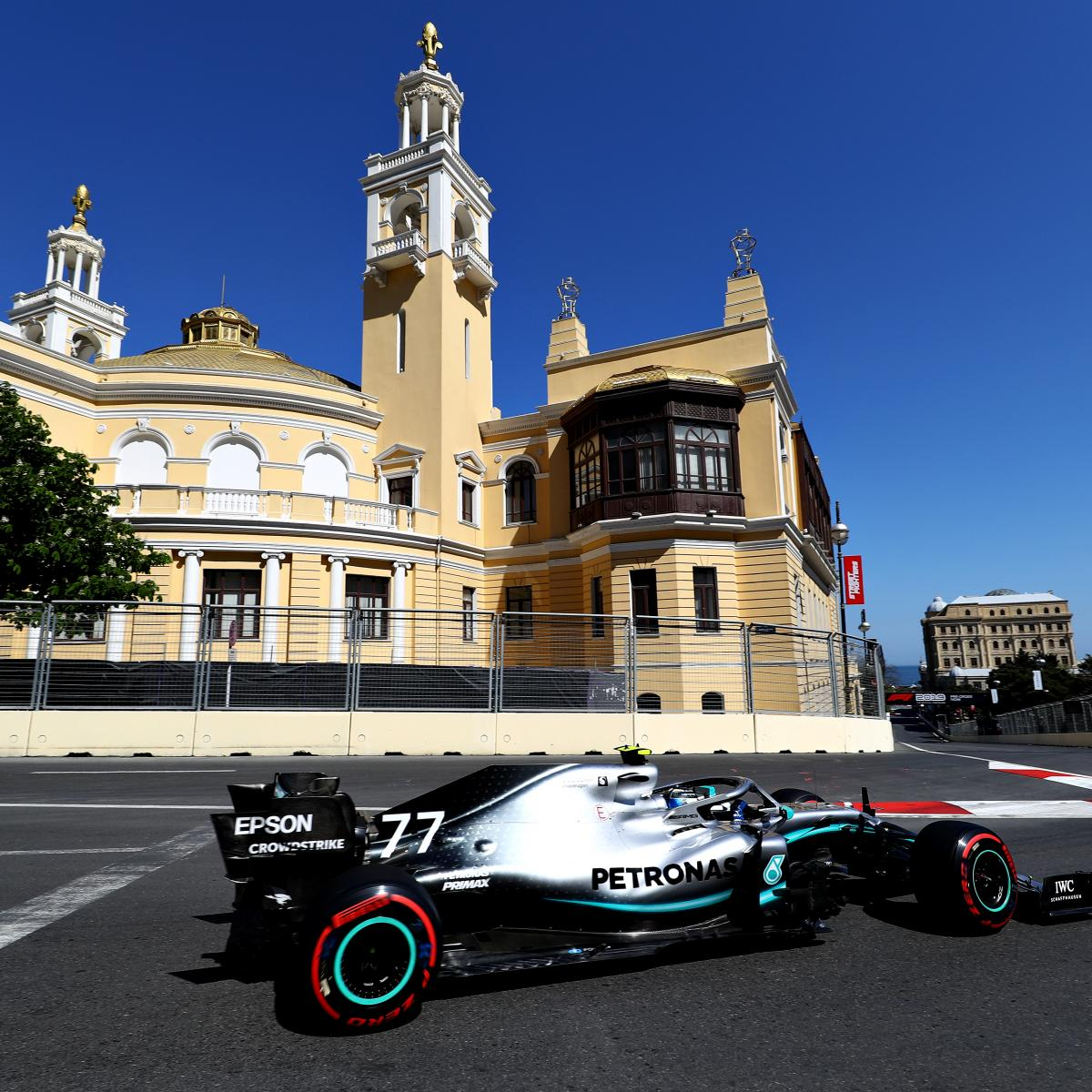 Azerbaijan News And Scores: Azerbaijan F1 Grand Prix 2019 Qualifying: Saturday's