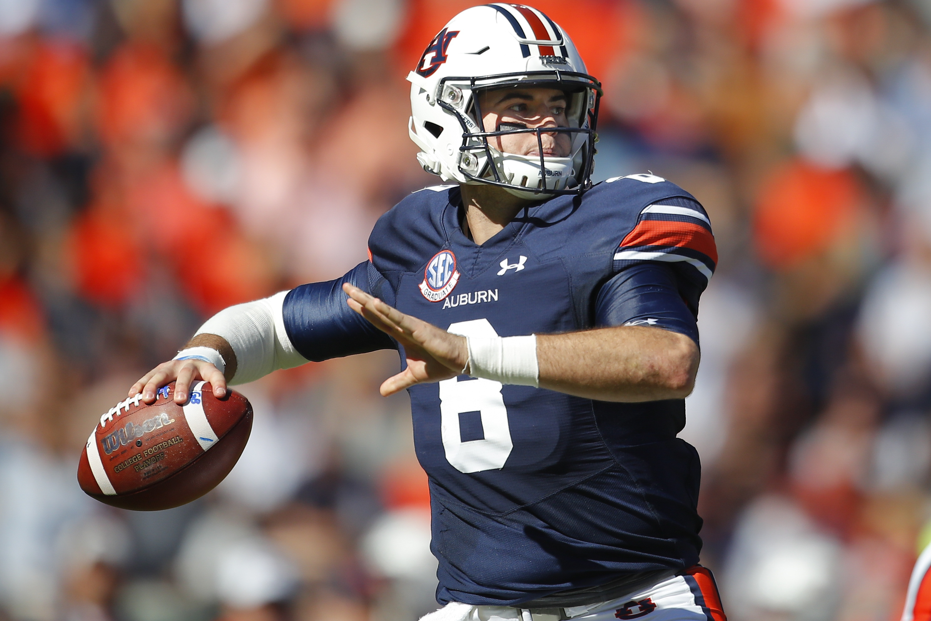 Patriots Draft Auburn Qb Jarrett Stidham To Groom As Tom Brady S Successor Bleacher Report Latest News Videos And Highlights