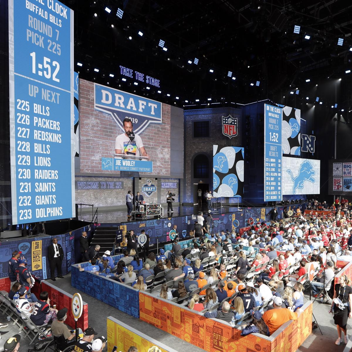 NFL Draft 2019 Results: Team-by-Team Grades For Overall