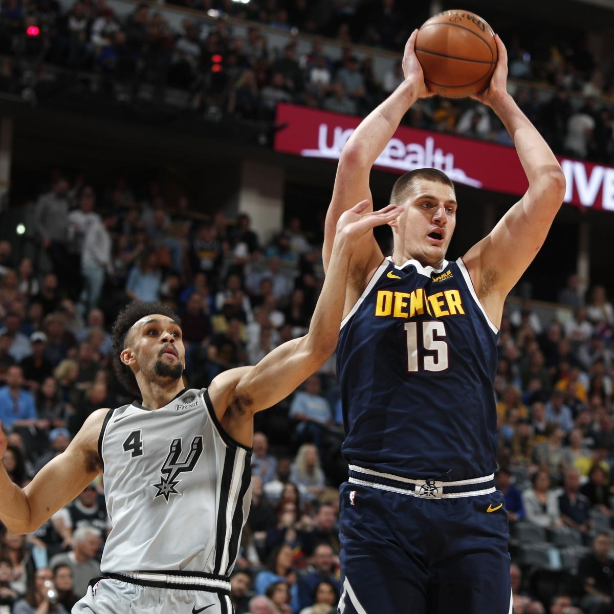 Nikola Jokic Triple-Doubles As Nuggets Beat Spurs In Game