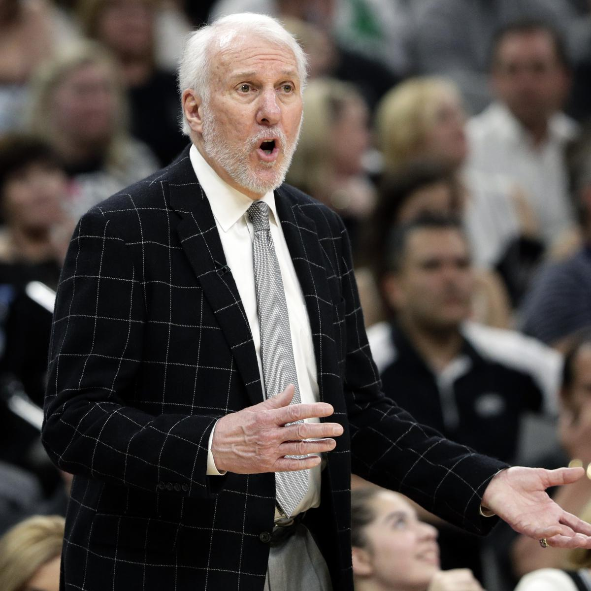 Gregg Popovich Spurs Didn T Hear Me Asking To Foul Late