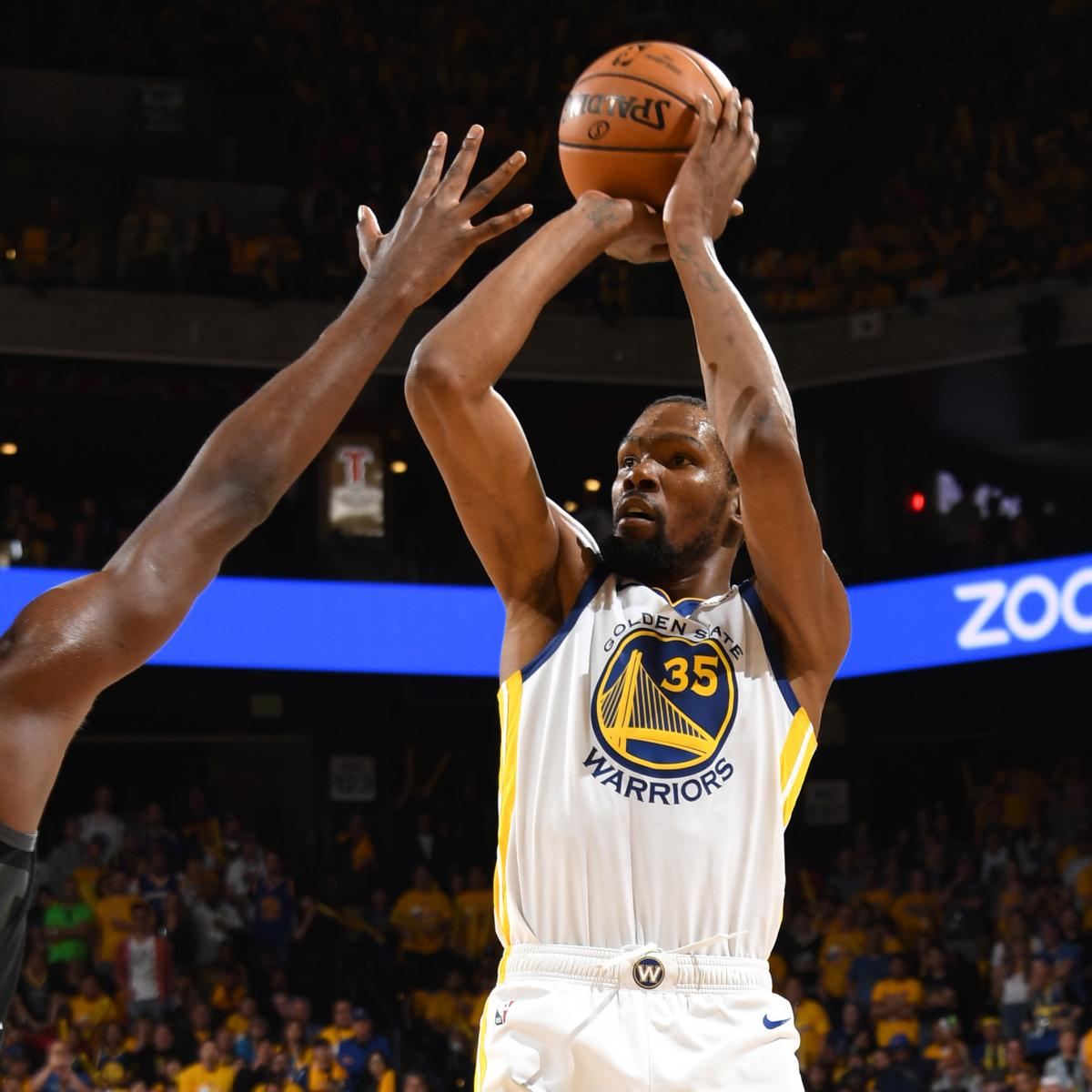 Rockets Vs Warriors May 24: Kevin Durant's 35 Carry Stephen Curry, Warriors To Win Vs