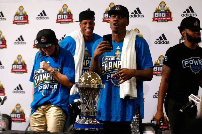 Big3 Basketball League 2019: Draft Time, TV Schedule and