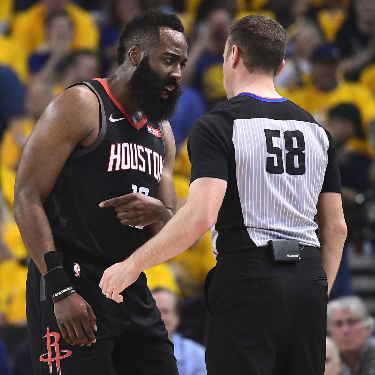 Rockets Vs Warriors May 24: Should Harden, Rockets Change Approach After No-Calls Vs