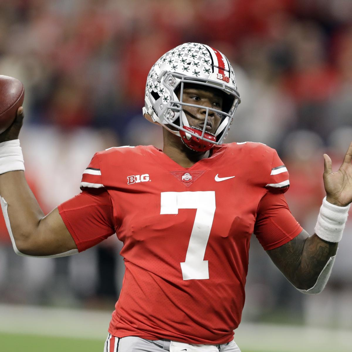 2019 Nfl Draft Ranking The Top Qbs Ready To Be Rookie: Dwayne Haskins Agrees To 4-Year Rookie Contract With