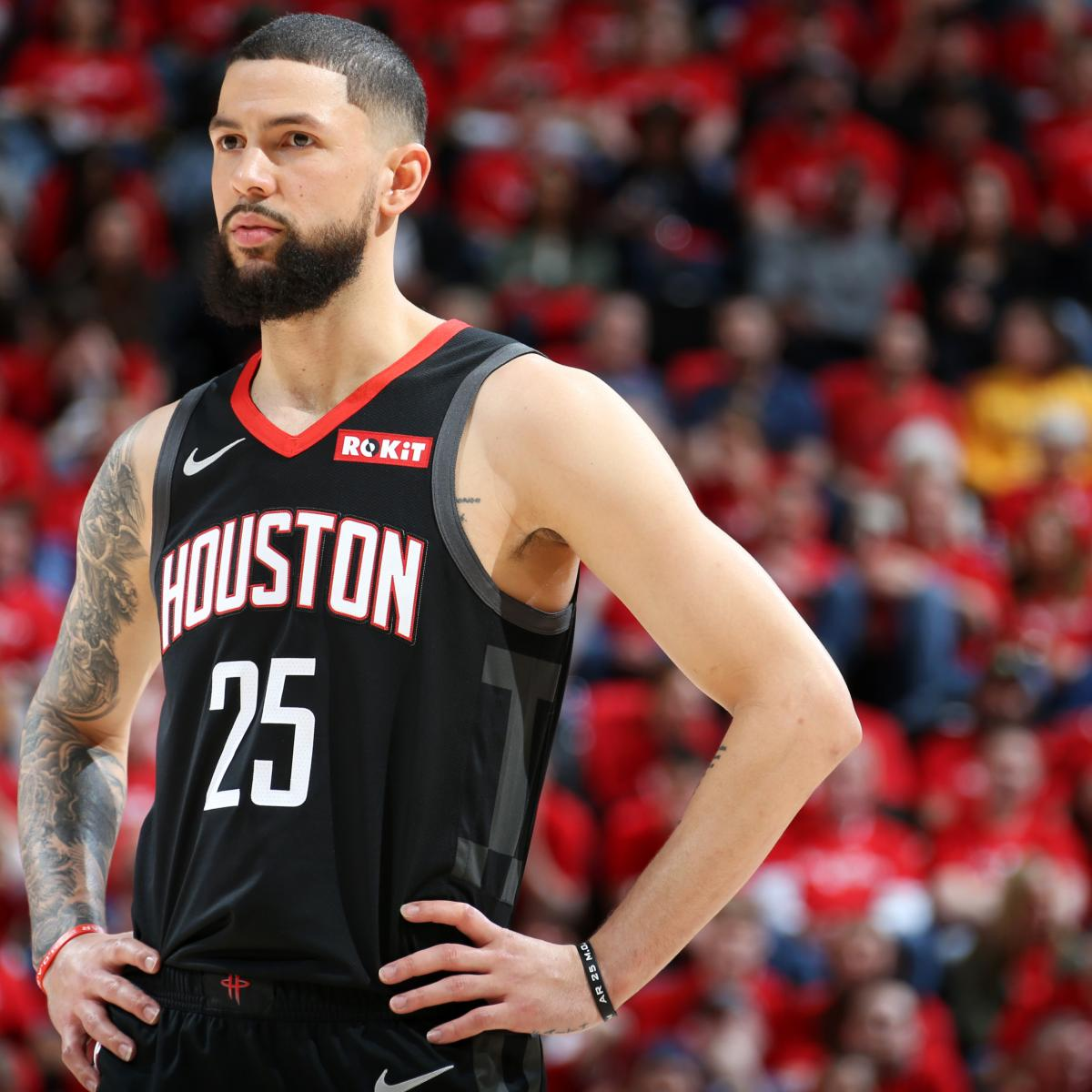 Austin Rivers To Play In Rockets Vs. Warriors Game 2 After