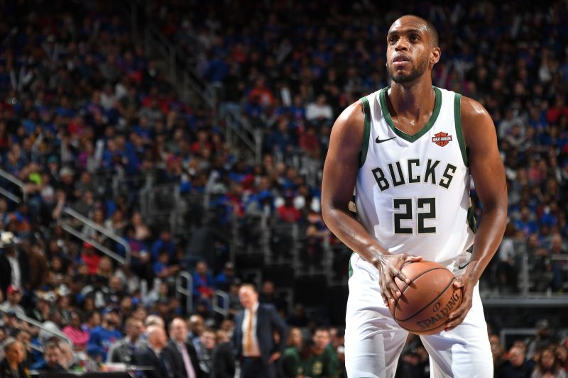 Bucks' Khris Middleton Declines $13M Contract Player Option, Will Be Free Agent