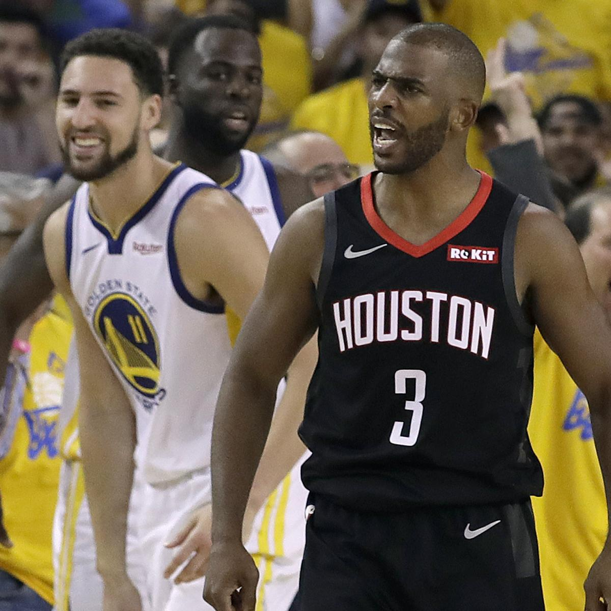 Chris Paul Fined $35K For Making Contact With Ref In