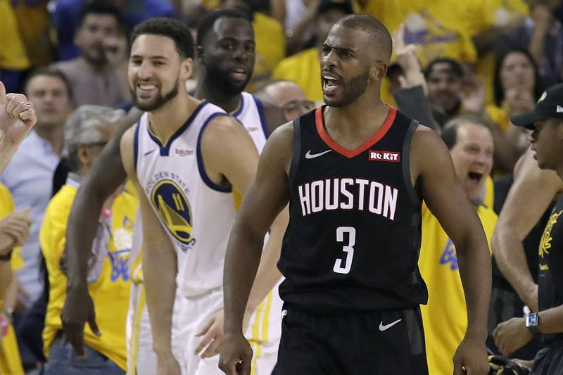 d44ee5582d63 Chris Paul Fined  35K for Making Contact with Ref in Rockets vs ...