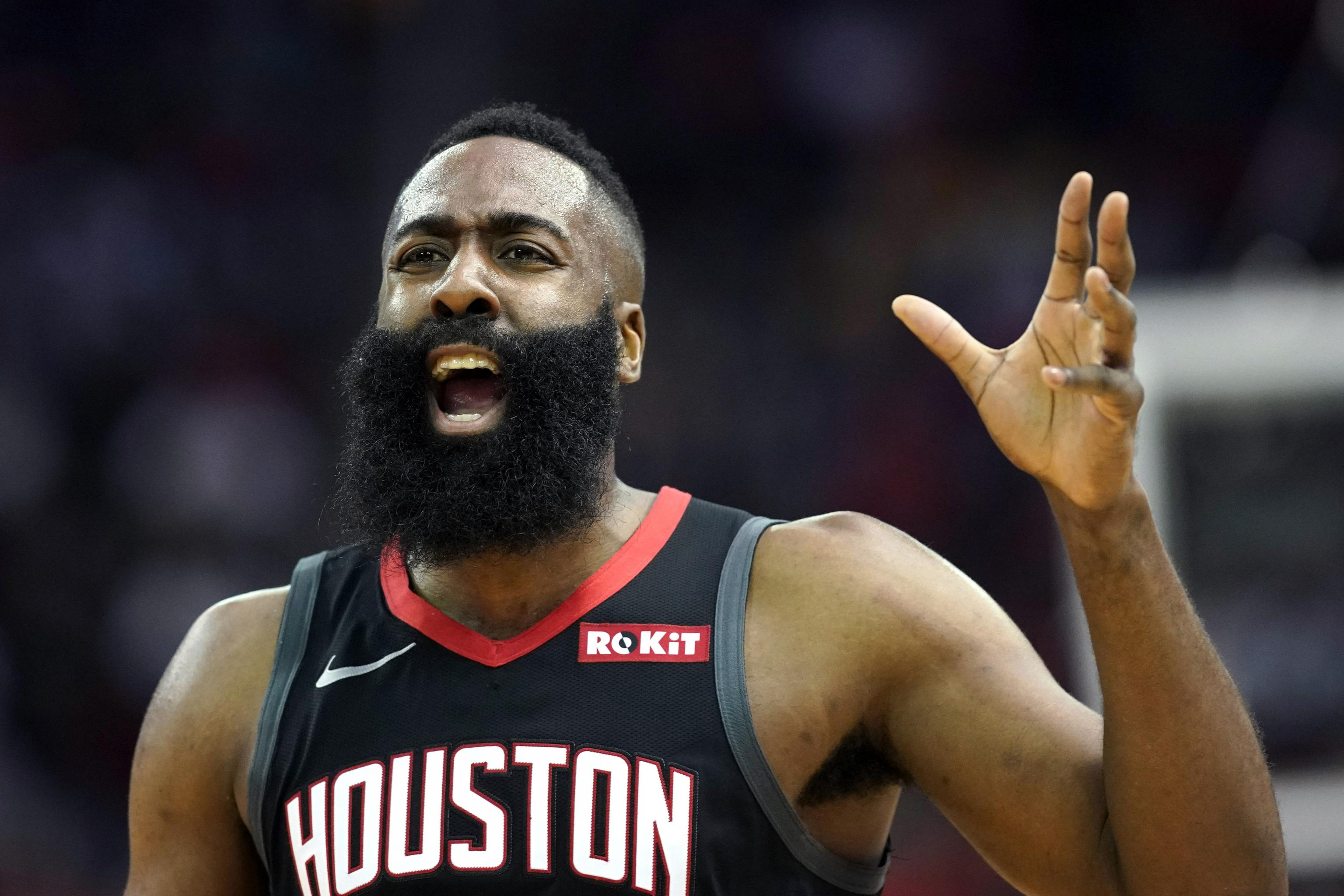 61698354d976 Kevin Durant Says James Harden Playing by the Rules