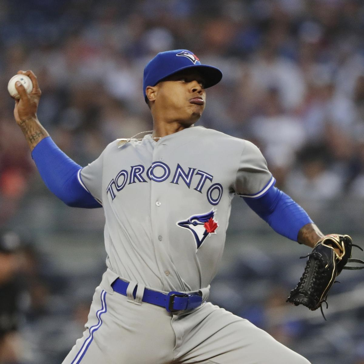 MLB Trade Rumors: Marcus Stroman, Aaron Sanchez, Justin