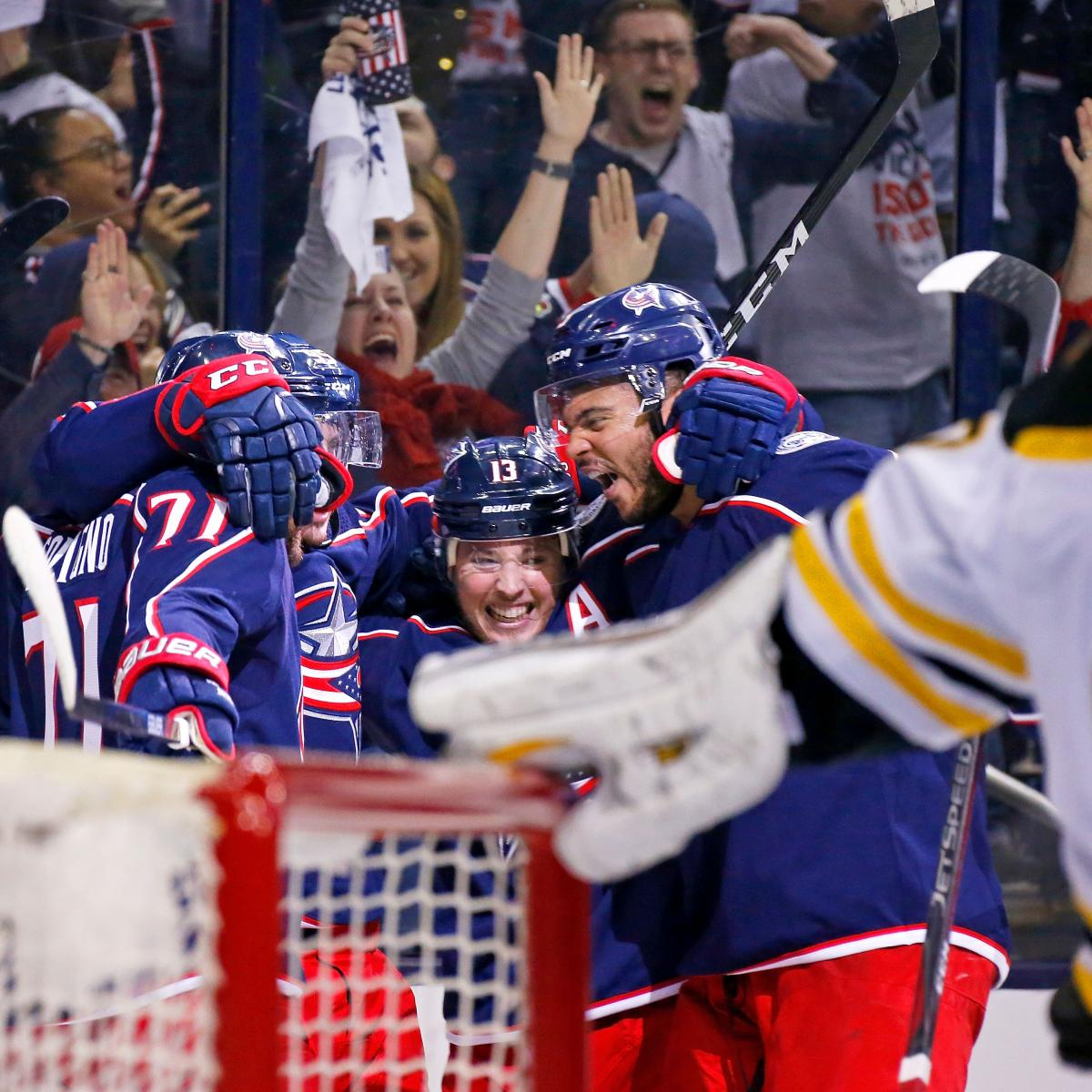 Matt Duchene Powers Blue Jackets Past Bruins In Game 3 For