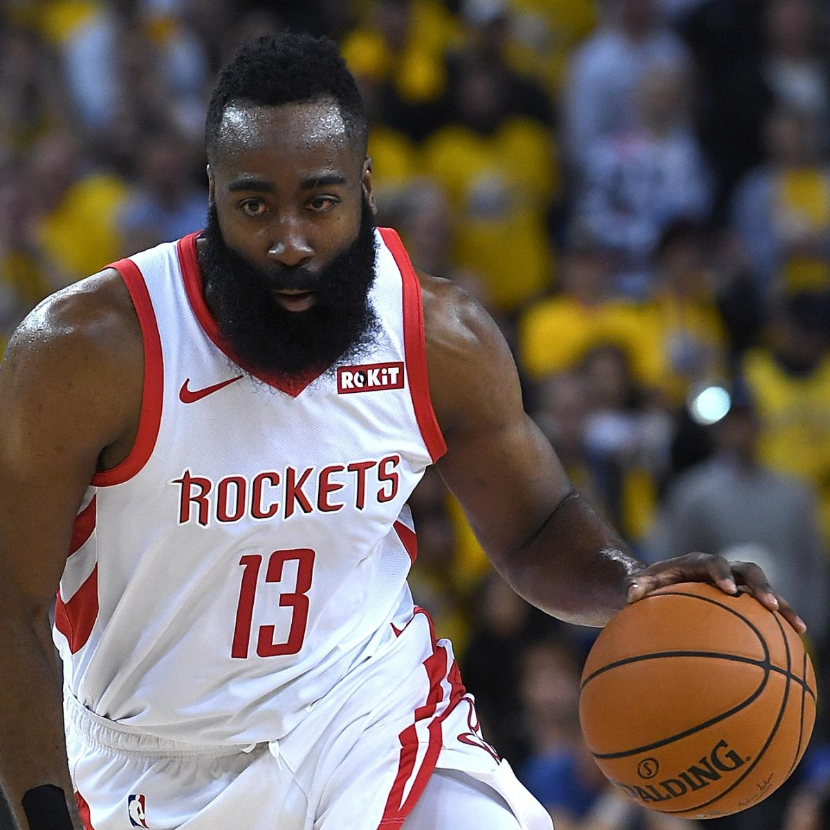 James Harden Injury Report: Look: James Harden's Eye Bloodied After Injury In Warriors