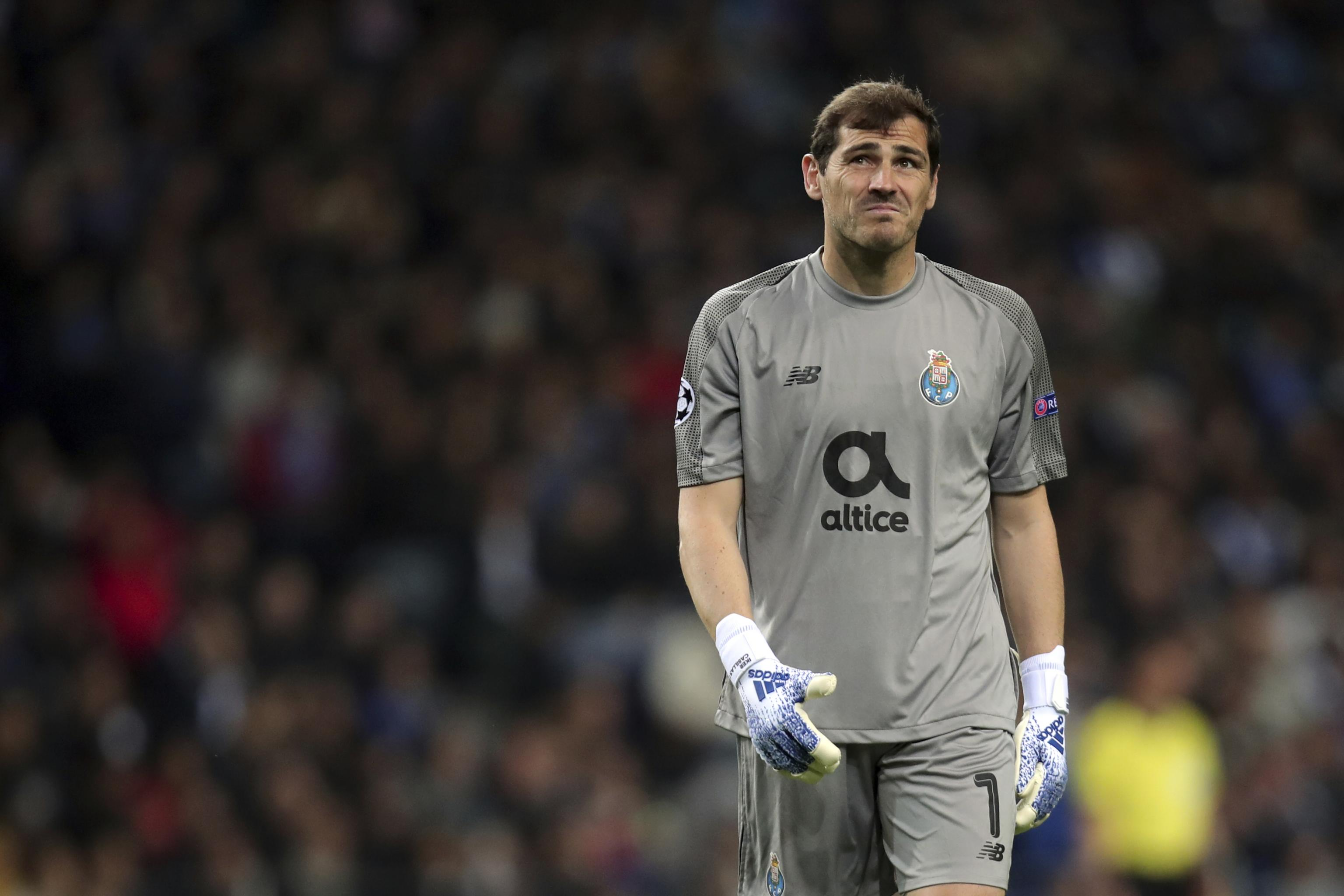 new styles 69dce bbede Iker Casillas Hospitalised After Suffering Heart Attack ...