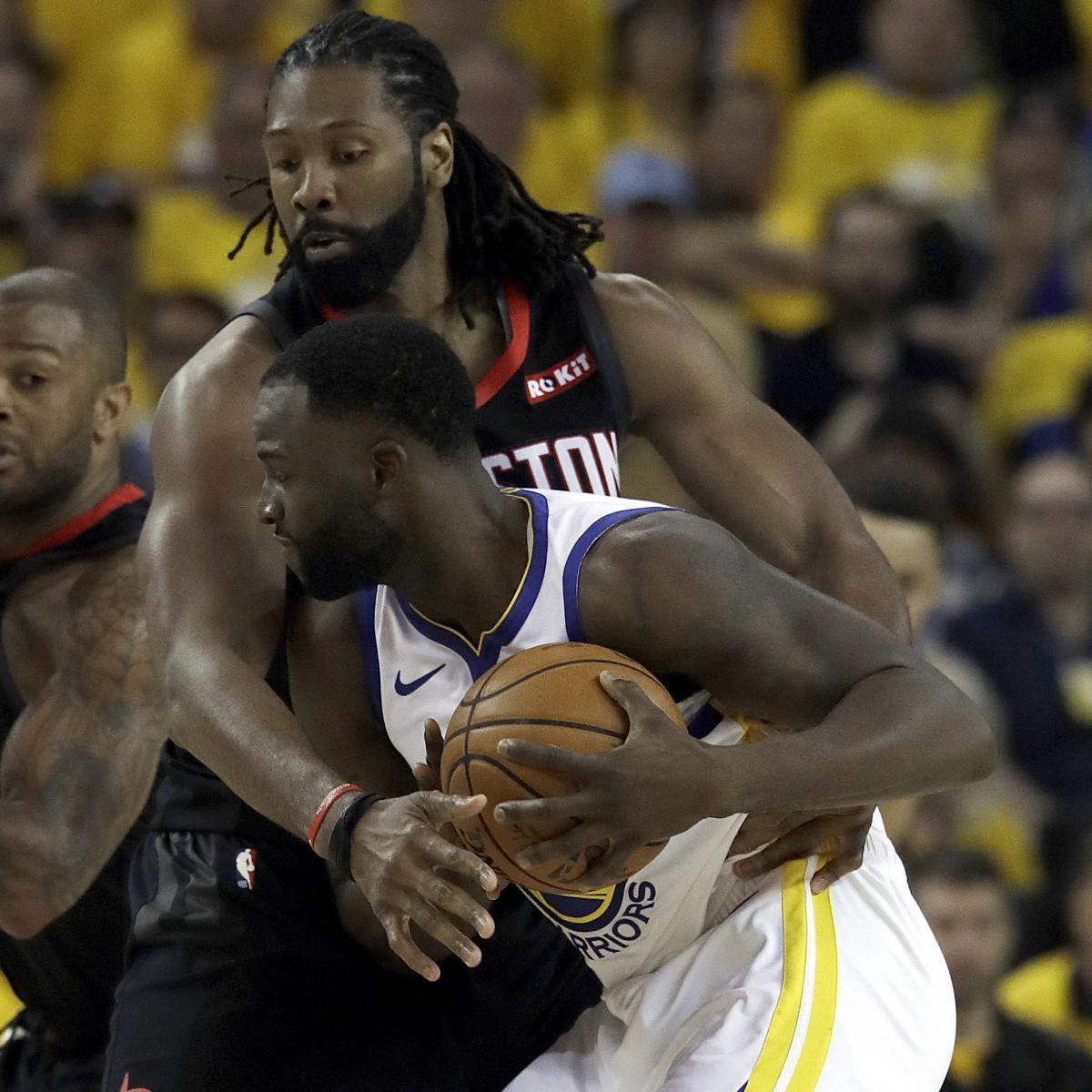 Report: Draymond Green's Rockets Vs. Warriors Game 2