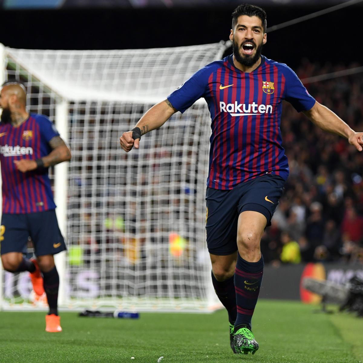 Video Watch Luis Suarez Score Goal Off Beautiful Jordi