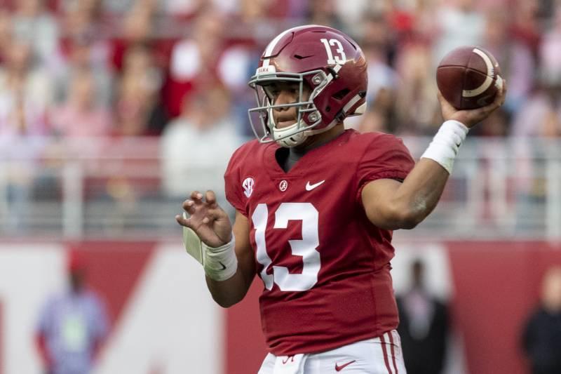 super popular 3cb13 1648a 2020 NFL Draft Odds: Alabama's Tua Tagovailoa Heavy Favorite ...