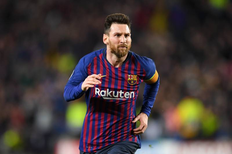 185ec869a Lionel Messi Scores 600th Barcelona Goal with Stunning Free-Kick vs ...
