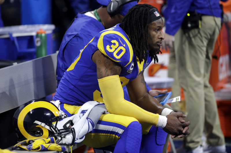 The Rams May Already Be Bracing for the End of the Todd Gurley Era