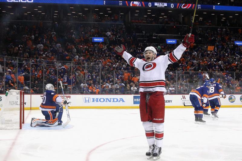 Justin Williams' Clutch Goal Hands Hurricanes 3-0 Series Lead vs. Islanders