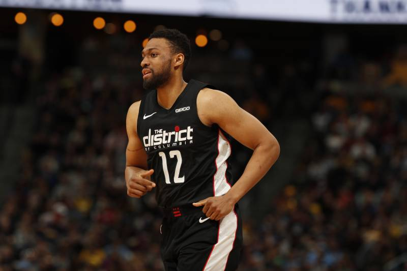 0b36ae32 Washington Wizards forward Jabari Parker (12) in the second half of an NBA  basketball