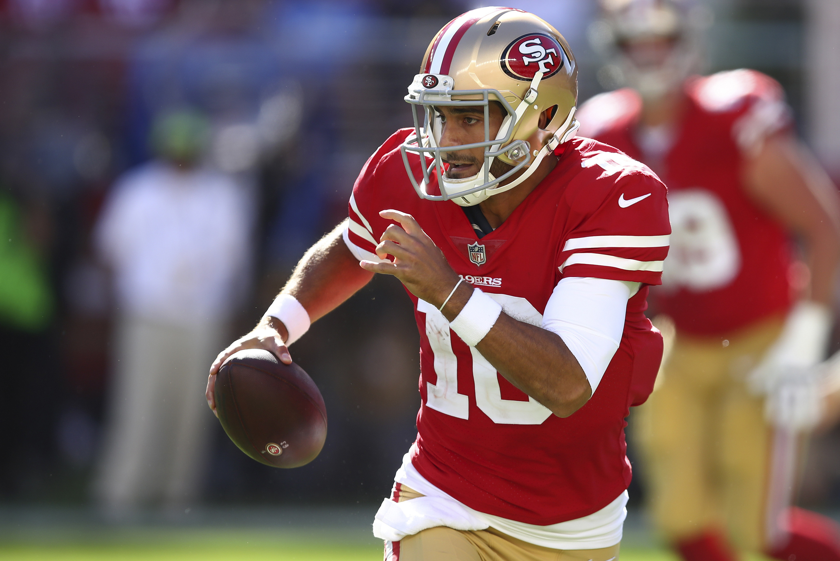 sports shoes 51f48 23aa6 Jimmy Garoppolo Must Live Up to $137M Contract for 49ers to ...