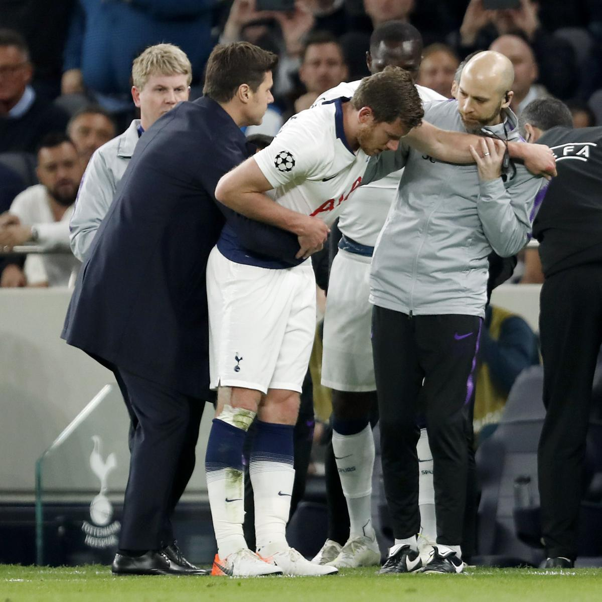Tottenham's Jan Vertonghen Suffered Nose Injury, Not