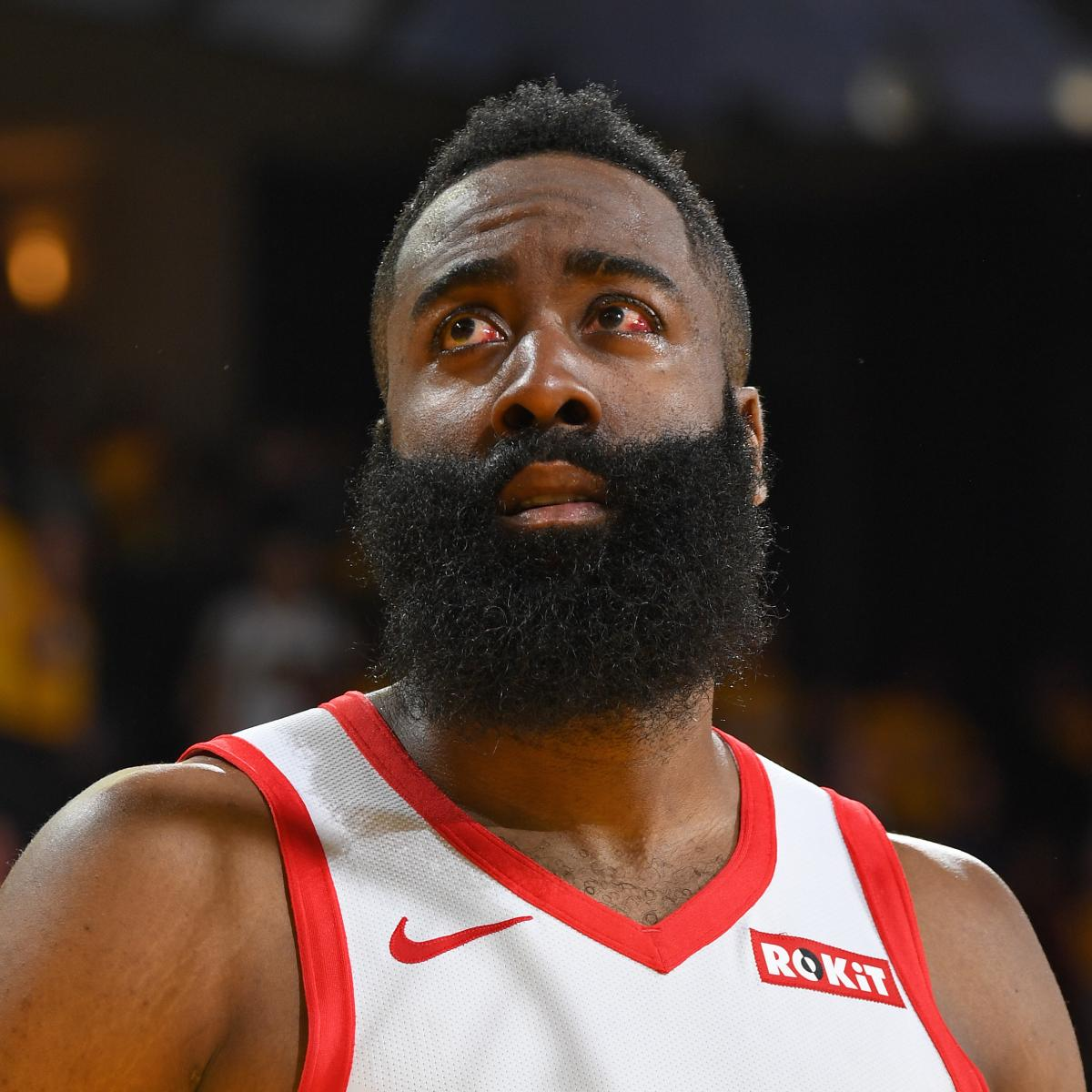 James Harden Injury Report: James Harden: Eye Injury Won't Prevent Me From Playing In