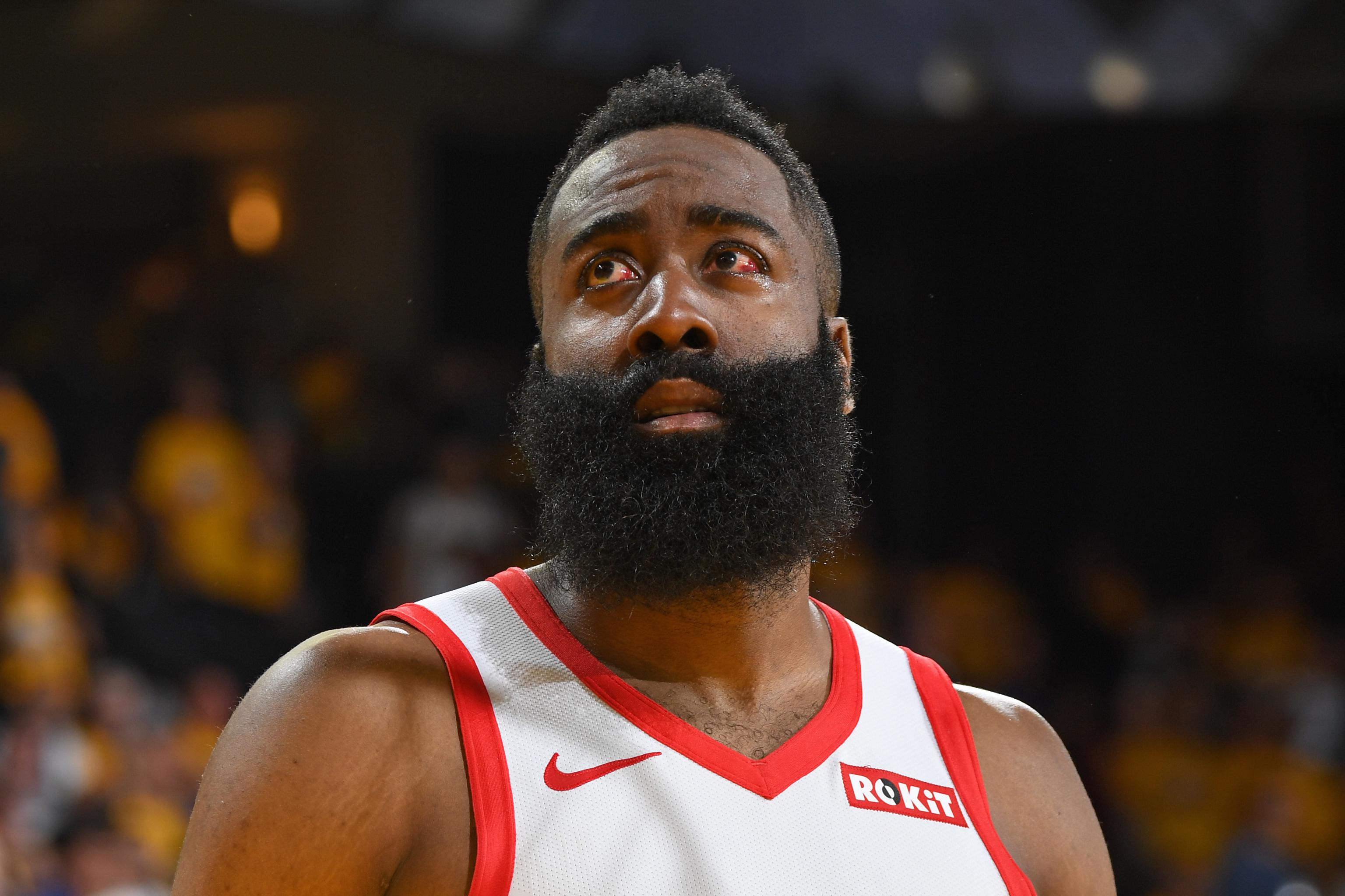 James Harden Eye Injury Won T Prevent Me From Playing In Game 3 Vs Warriors Bleacher Report Latest News Videos And Highlights